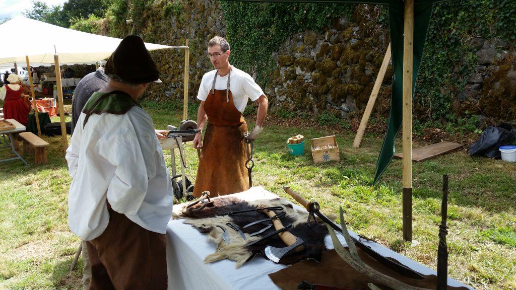 Vieux metiers: la forge